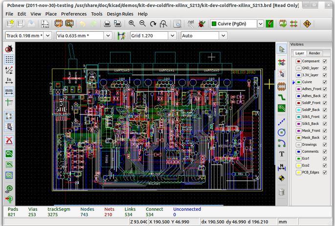 KiCAD CAD Software
