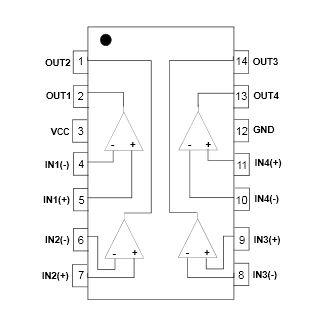 LM339 Quad Comnparator