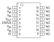 MMA1250KEG: Z-AXIS SENSITIVITY MICROMACHINED ACCELEROMETER ±5g