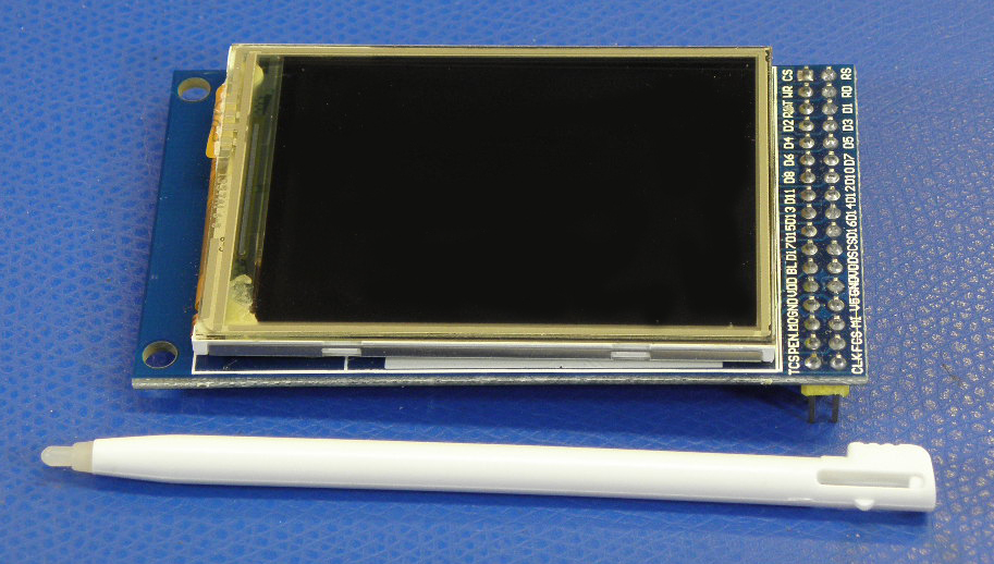 """320 x 240 2.7"""" TFT LCD Module Display Touch Panel SD Card"""