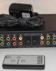 3-Way AV Switch - Composit Video Toslink