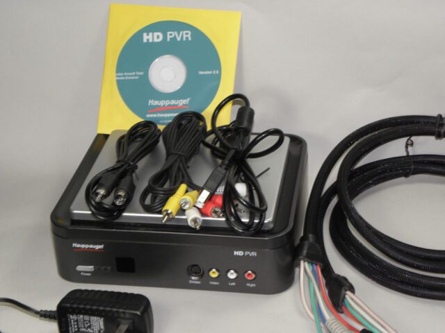 Hauppauge Hd Pvr Recorder With Cables Herdware Com