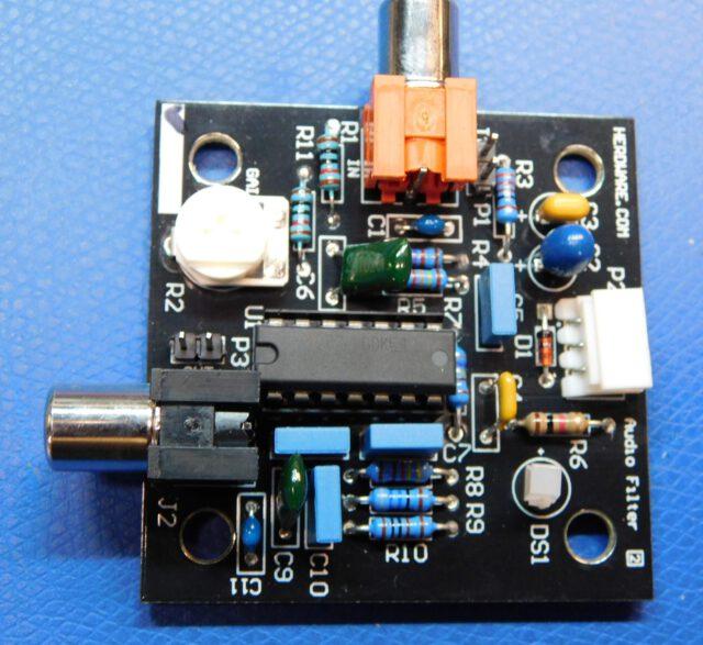 DIY Radar Audio Filter