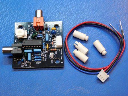 DIY Radar 20KHz Low Pass Audio Filter