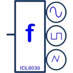 Function Generator Block EEBloxx-03 ICL 8038