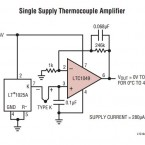 Thermocouple Amplifier LT1049