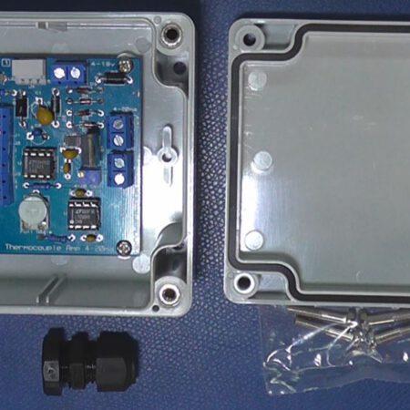 Thermo Amp analog 4-20ma PCB w housing