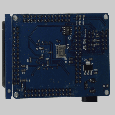 Cyclone FPGA Dev Board Bottom