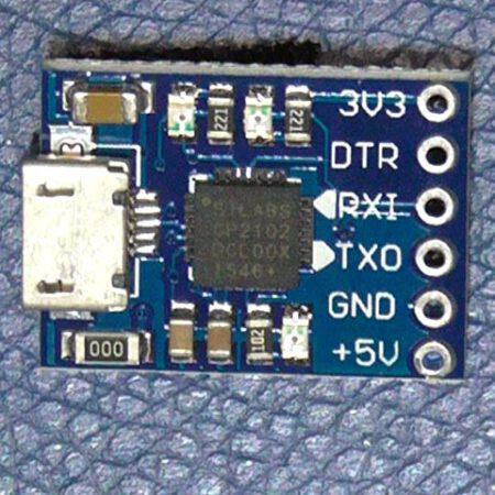 CP2102 MicroUSB Serial Module