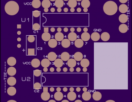 EEBloxx-04 Dual 14 Pin Logic Module